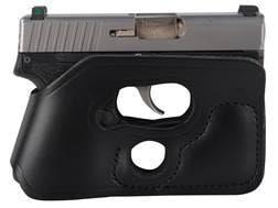 DeSantis Pocket Shot Holster Ambidextrous Kimber Solo Carry, Kahr CM9, PM9, Rohrbaugh R9 Leather ...