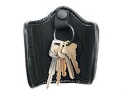 Uncle Mike's Silent Key Ring Holder Nylon Black