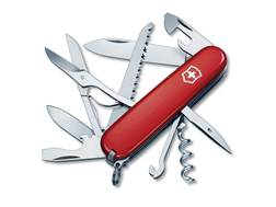 Victorinox Swiss Army Huntsman Folding Hunting Knife 15 Function Stainless Steel Blade Polymer Ha...