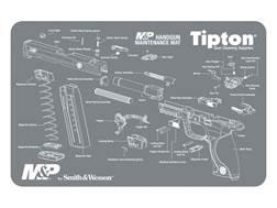 "Tipton S&W M&P Gun Cleaning and Maintenance Mat 11"" x 17"" Gray"