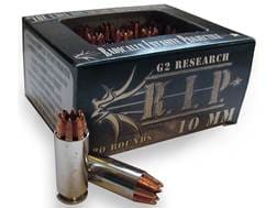 G2 Research R.I.P. Ammunition 10mm Auto 115 Grain Radically Invasive Projectile Fragmenting Solid...