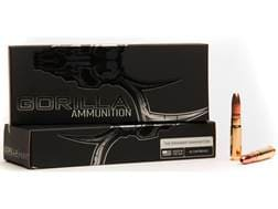 Gorilla Hunt Ammunition 300 AAC Blackout Subsonic 205 Grain Expanding Hollow Point Copper Lead-Free