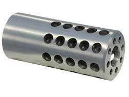 "Vais Muzzle Brake Micro 270 Caliber 1/2""-32 Thread .750"" Outside Diameter x 1.750"" Length Steel"