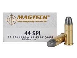 Magtech Cowboy Action Ammunition 44 Special 240 Grain Lead Flat Nose Box of 50