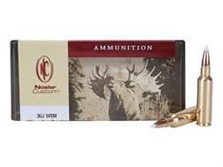 Nosler Custom Ammunition 300 Winchester Short Magnum (WSM) 180 Grain AccuBond Spitzer Box of 20