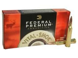 Federal Premium Vital-Shok Ammunition 7mm Remington Magnum 160 Grain Nosler Partition
