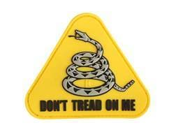 """Maxpedition Don't Tread On Me PVC Morale Patch 3"""" x 2.6"""""""