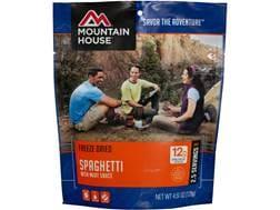 Mountain House Spaghetti with Meat Sauce Freeze Dried Food 4.5 oz