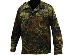 Military Surplus German Flecktarn Camo Field Shirt