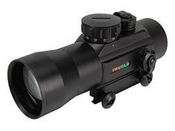 TRUGLO Red Dot Sight 40mm Tube 2x 2.5 MOA Dot with Integral Weaver-Style Base Matte