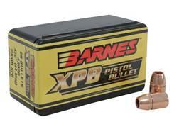 Barnes XPB Handgun Bullets 44 Caliber (429 Diameter) 200 Grain Solid Copper Hollow Point Lead-Fre...