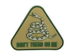 "Maxpedition Don't Tread On Me PVC Morale Patch 3"" x 2.6"""