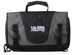 """MidwayUSA Pro Series Tactical Pistol Case 15"""" Gray and Black"""
