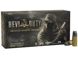 Hevi-Shot HEVI-Duty Defense Ammunition 9mm Luger 100 Grain Frangible Non-Toxic Lead-Free Box of 50
