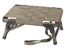 H.S. Strut Strut Seat Chair Aluminum Frame Olive Drab Nylon Seat Black