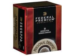 Federal Premium Personal Defense Ammunition 38 Special +P 129 Grain Hydra-Shok Jacketed Hollow Point