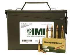 IMI Ammunition 5.56x45mm NATO 55 Grain M193 Full Metal Jacket Boat Tail Ammo Can of 420 (14 Boxes...