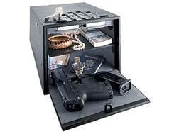 GunVault Deluxe MultiVault Personal Safe with Electronic Lock Black
