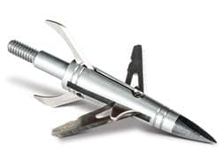 NAP Spitfire Double Cross Mechanical Broadhead 100 Grain Stainless Steel Pack of 3