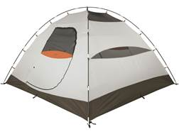 """ALPS Mountaineering Taurus 6 Dome Tent 120"""" x 120"""" x 72"""" Polyester Green and Orange"""
