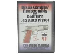 "American Gunsmithing Institute (AGI) Disassembly and Reassembly Course Video ""Colt 1911 .45 Auto ..."