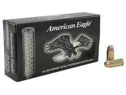 Federal American Eagle Suppressor Ammunition 45 ACP Subsonic 230 Grain Full Metal Jacket Box of 50