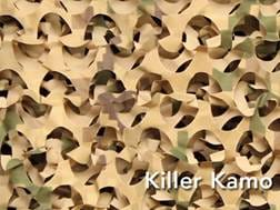 Camo Unlimited Quick Set Ground Blind Polyester Killer Kamo