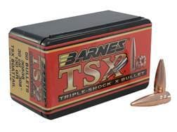 Barnes Triple-Shock X (TSX) Bullets 30 Caliber (308 Diameter) 130 Grain Hollow Point Boat Tail Le...