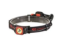 Streamlight Twin-Task USB Headlamp LED with Rechargeable Lithium Ion Battery Polymer Red