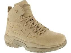 "Reebok Rapid Response RB 6"" Side-Zip Tactical Boots Leather/Nylon Men's"