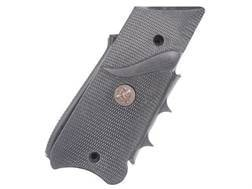 Pachmayr Signature Grips with Backstrap and Finger Grooves Ruger Mark III Rubber Black