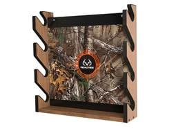 Rush Creek Creations Realtree 4 Gun Wall Rack Realtree Camo Background Wood Laminate