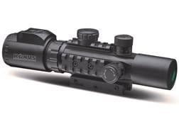 Konus Pro AS34 Rifle Scope 2-6x 28mm Illuminated Mil-Dot Reticle Matte