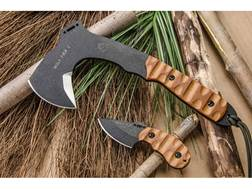 TOPS Knives Wolf Pax 2 Fixed Blade Knife & Axe Combo 1095 High Carbon Alloy Blades Canvas Micarta...