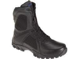 "Bates Shock 8"" Side-Zip Tactical Boots Leather/Nylon Men's"