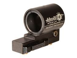 Aimshot KeyMod Quick Release Flashlight Mount Aluminum Black