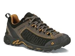 """Vasque Juxt 4"""" Hiking Shoes Leather Peat and Sudan Brown Men's"""