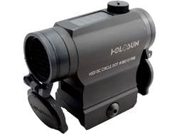 Holosun HS515C Paralow Red Dot Sight 1x Selectable Reticle Weaver-Style Quick-Release Lower 1/3 C...