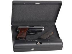 GunVault MicroVault Personal Safe with Electronic Lock Black