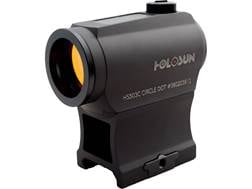 Holosun HS503C Paralow Red Dot Sight 1x Selectable Reticle Weaver-Style Low and Lower 1/3 Co-Witn...