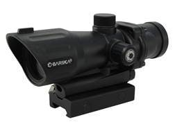 Barska AR-15 Red Dot Sight 1x 30mm Illuminated Tactical Reticle with Picatinny-Style Rifle Scope ...