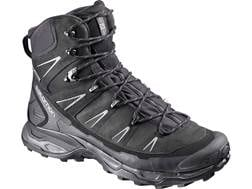 "Salomon X Ultra Trek GTX 6"" Waterproof GORE-TEX Hiking Boots Leather/Synthetic Black Men's 11 D"