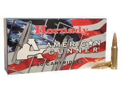 Hornady American Gunner Ammunition 6.8mm Remington SPC 110 Grain Hollow Point Boat Tail Box of 50