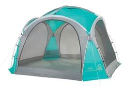 """Coleman Mountain View Screendome Shelter 144"""" x 144"""" Polyester Blue and Gray"""