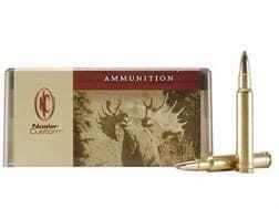 Nosler Custom Ammunition 340 Weatherby Magnum 225 Grain Partition Spitzer Box of 20