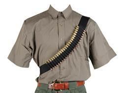 Bulldog Bandolier 24-Round Rifle Nylon Black
