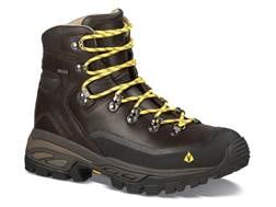 """Vasque Eriksson GTX 5"""" Waterproof GORE-TEX Hiking Boots Leather Coffee Bean and Primrose Yellow M..."""