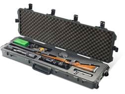 """Pelican Storm iM3300RFL Scoped Rifle Case with Molded Insert and Wheels 53"""" Polymer"""