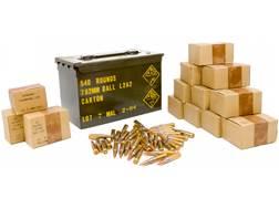 Military Surplus Malaysian Ammunition 7.62x51mm 146 Grain Full Metal Jacket Berdan Primed Ammo Ca...