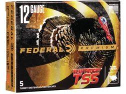 """Federal Premium Heavyweight TSS Turkey Ammunition 12 Gauge 3-1/2"""" 2-1/4 oz #9 Non-Toxic Tungsten ..."""